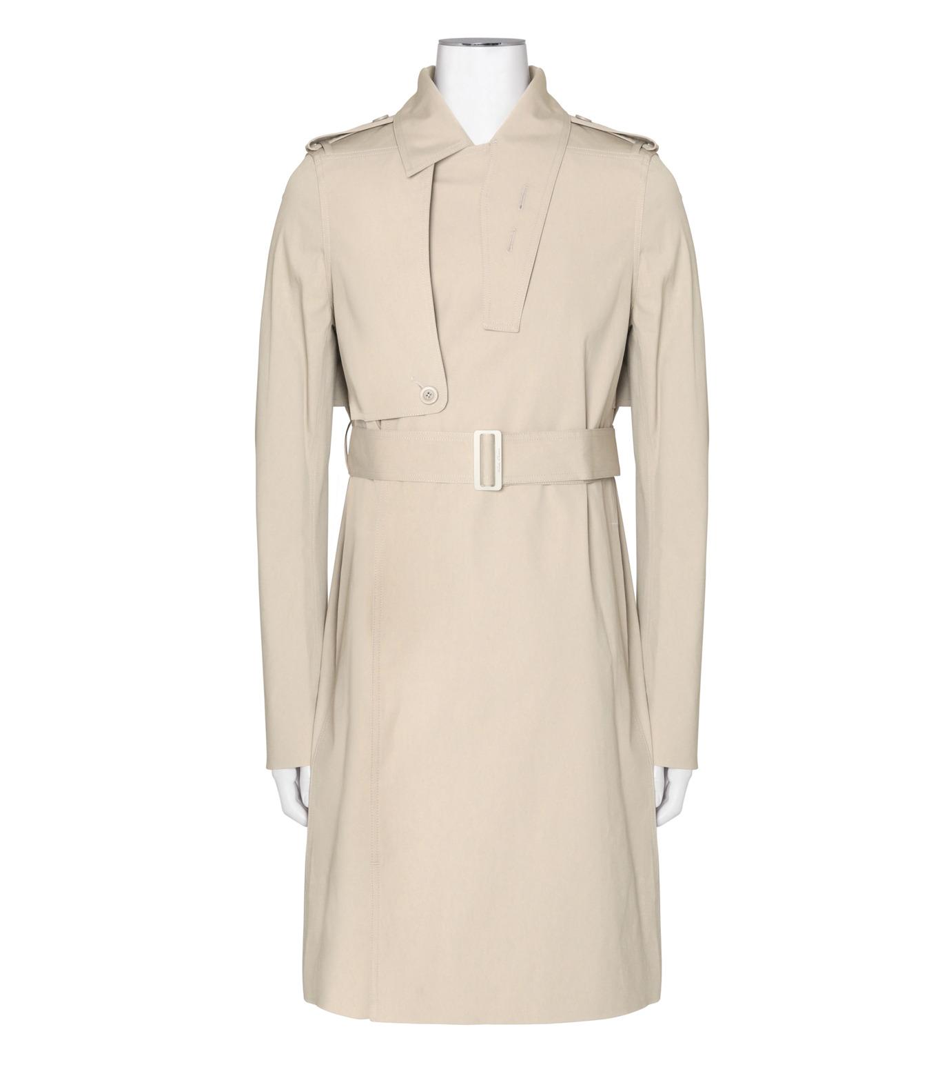 Rick Owens(リックオウエンス)のTrench Coat-GRAY(コート/coat)-RR16F6708TE-11 拡大詳細画像1