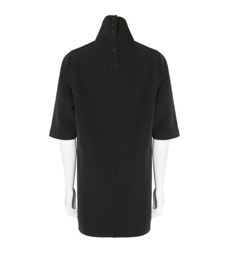Rick Owens(リックオウエンス)のNeoprane Hineck-BLACK(カットソー/cut and sewn)-RU16F6271D-13 詳細画像2