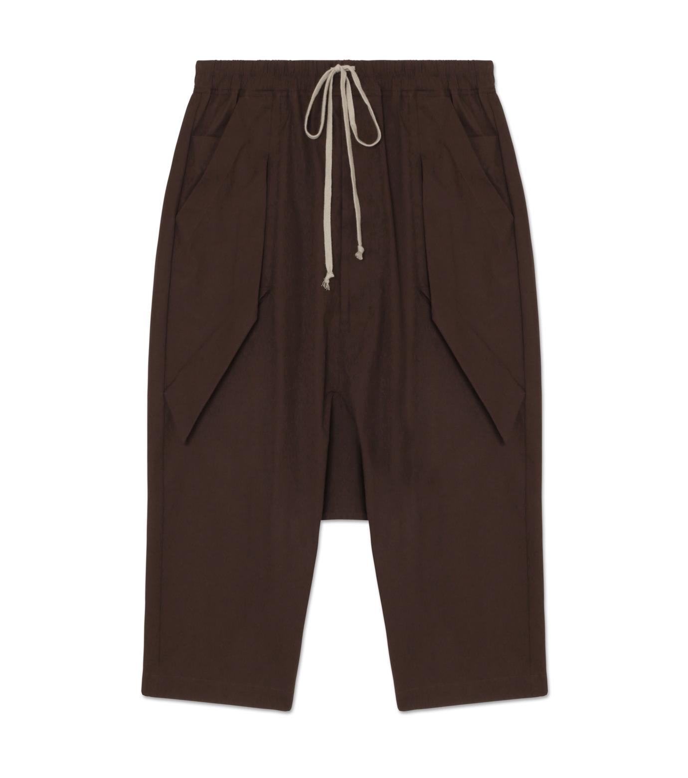 Rick Owens(リックオウエンス)のCotton Short Pants-PURPLE-RU16F6393TE-82 拡大詳細画像1
