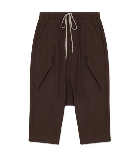 Rick Owens(リックオウエンス)のCotton Short Pants-PURPLE-RU16F6393TE-82 詳細画像1