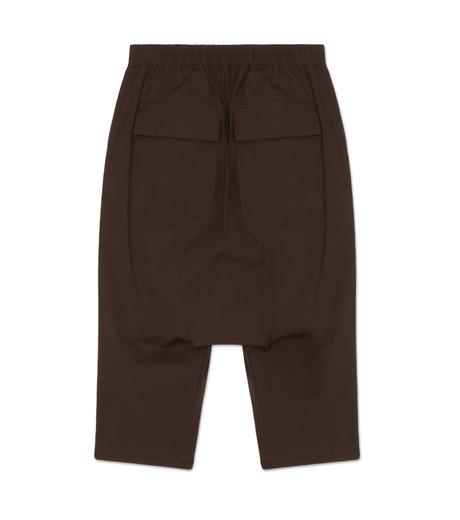 Rick Owens(リックオウエンス)のCotton Short Pants-PURPLE-RU16F6393TE-82 詳細画像2