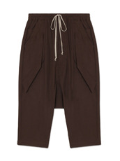Rick Owens Cotton Short Pants