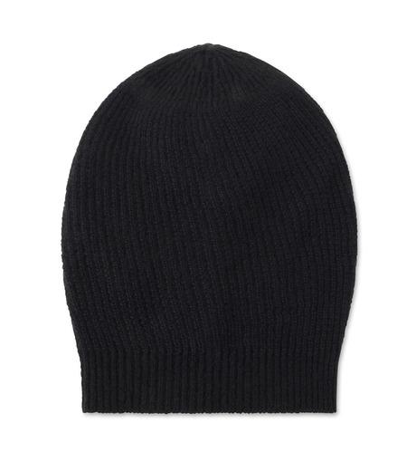Rick Owens(リックオウエンス)のCashmere Knitcap-BLACK(キャップ/cap)-RU16F6494WSL-13 詳細画像1
