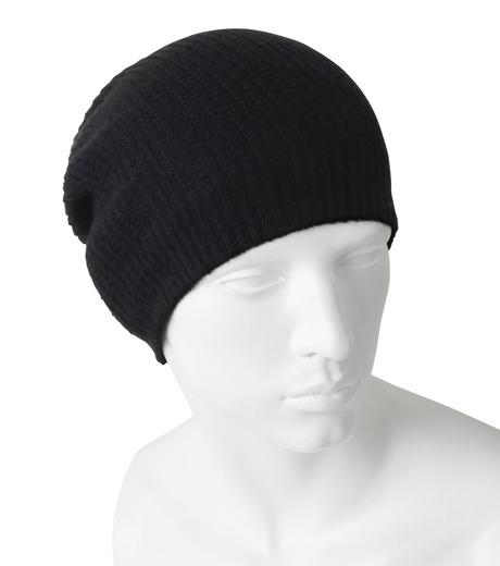 Rick Owens(リックオウエンス)のCashmere Knitcap-BLACK(キャップ/cap)-RU16F6494WSL-13 詳細画像2