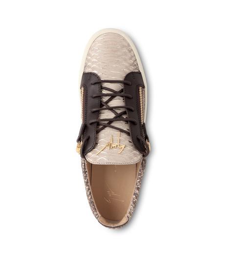 Giuseppe Zanotti Design(ジュゼッペザノッティ)のPython Pattern Sneaker-GOLD(スニーカー/sneaker)-RU6004-2 詳細画像4