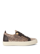 Giuseppe Zanotti Design(ジュゼッペザノッティ) Python Pattern Sneaker