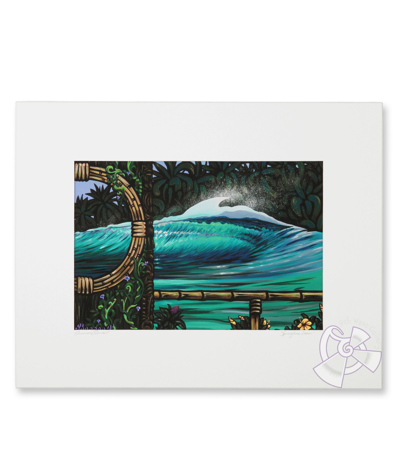 9th Wave Gallery(9th ウェイブ ギャラリー)のSpringtime lanai print M-NONE-S-Pr-Spring-0 拡大詳細画像1