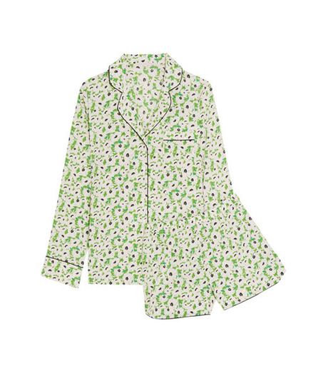 Stella McCartney Lingerie(ステラ マッカートニー ランジェリー)のPOPPY SNOOZING LONG PJ SET SL-LIGHT GREEN(LINGERIE/LINGERIE)-S108-251-21 詳細画像1