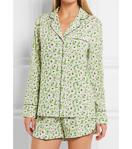 Stella McCartney Lingerie(ステラ マッカートニー ランジェリー)のPOPPY SNOOZING LONG PJ SET SL-LIGHT GREEN(LINGERIE/LINGERIE)-S108-251-21 詳細画像2