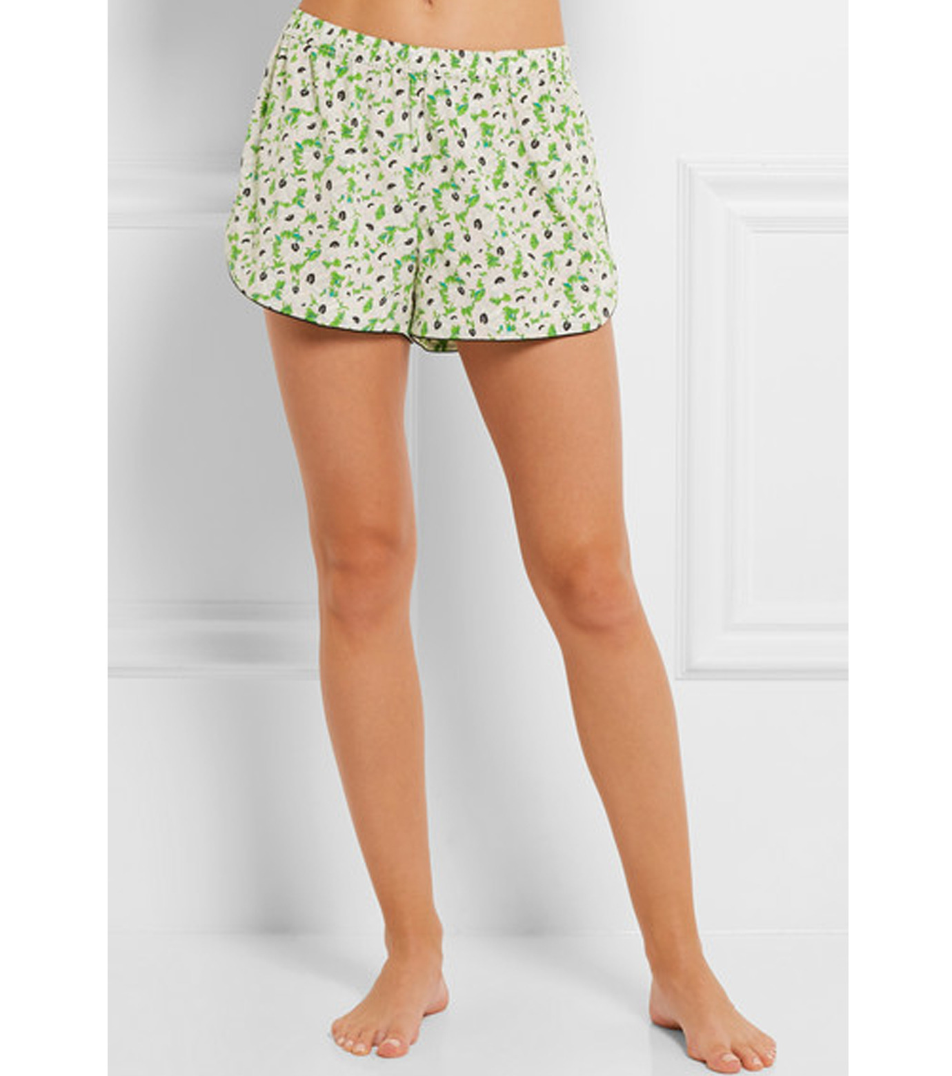 Stella McCartney Lingerie(ステラ マッカートニー ランジェリー)のPOPPY SNOOZING LONG PJ SET SL-LIGHT GREEN(LINGERIE/LINGERIE)-S108-251-21 拡大詳細画像3