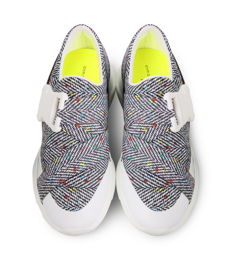 Christopher Kane(クリストファー ケイン)のPrinted Low Top-MULTI COLOUR(スニーカー/sneaker)-S146W-9 詳細画像4