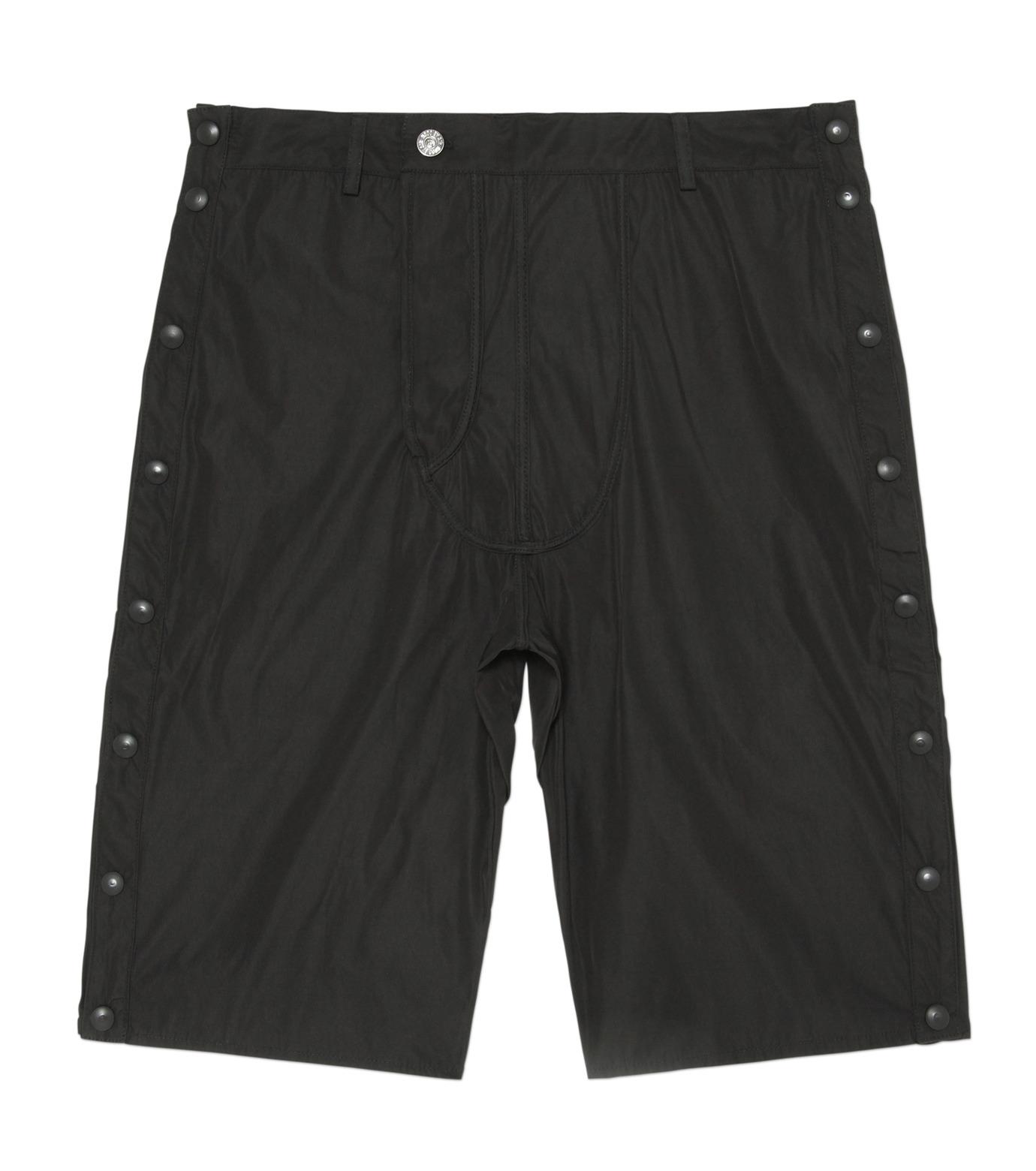 Hood By Air(フード・バイ・エアー)のTrack Snap Short w/Underwear Fly-BLACK(パンツ/pants)-S15-WS46-A-13 拡大詳細画像1