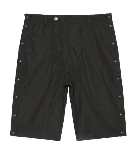 Hood By Air(フード・バイ・エアー)のTrack Snap Short w/Underwear Fly-BLACK(パンツ/pants)-S15-WS46-A-13 詳細画像1