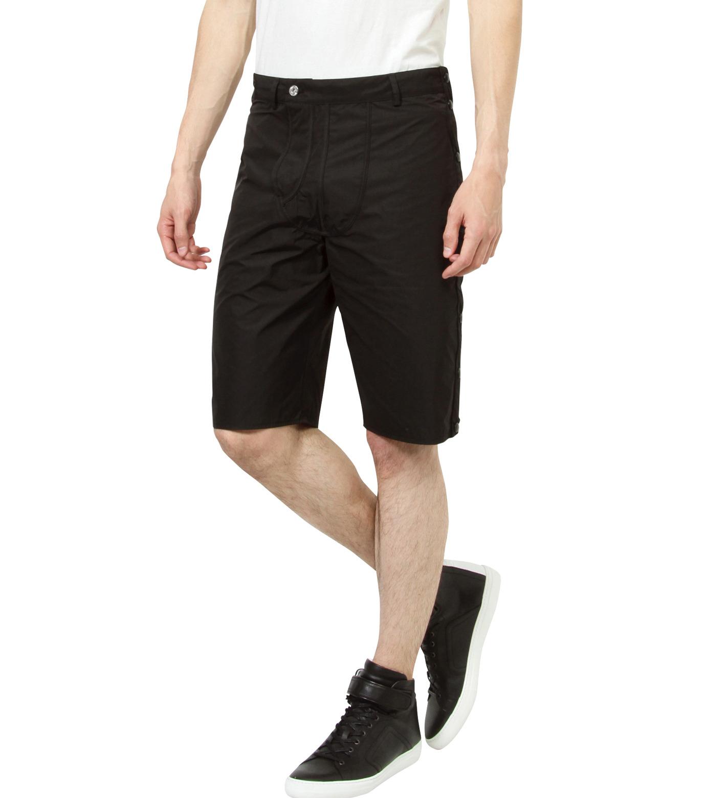 Hood By Air(フード・バイ・エアー)のTrack Snap Short w/Underwear Fly-BLACK(パンツ/pants)-S15-WS46-A-13 拡大詳細画像3