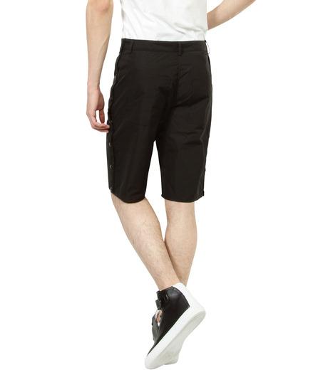 Hood By Air(フード・バイ・エアー)のTrack Snap Short w/Underwear Fly-BLACK(パンツ/pants)-S15-WS46-A-13 詳細画像4