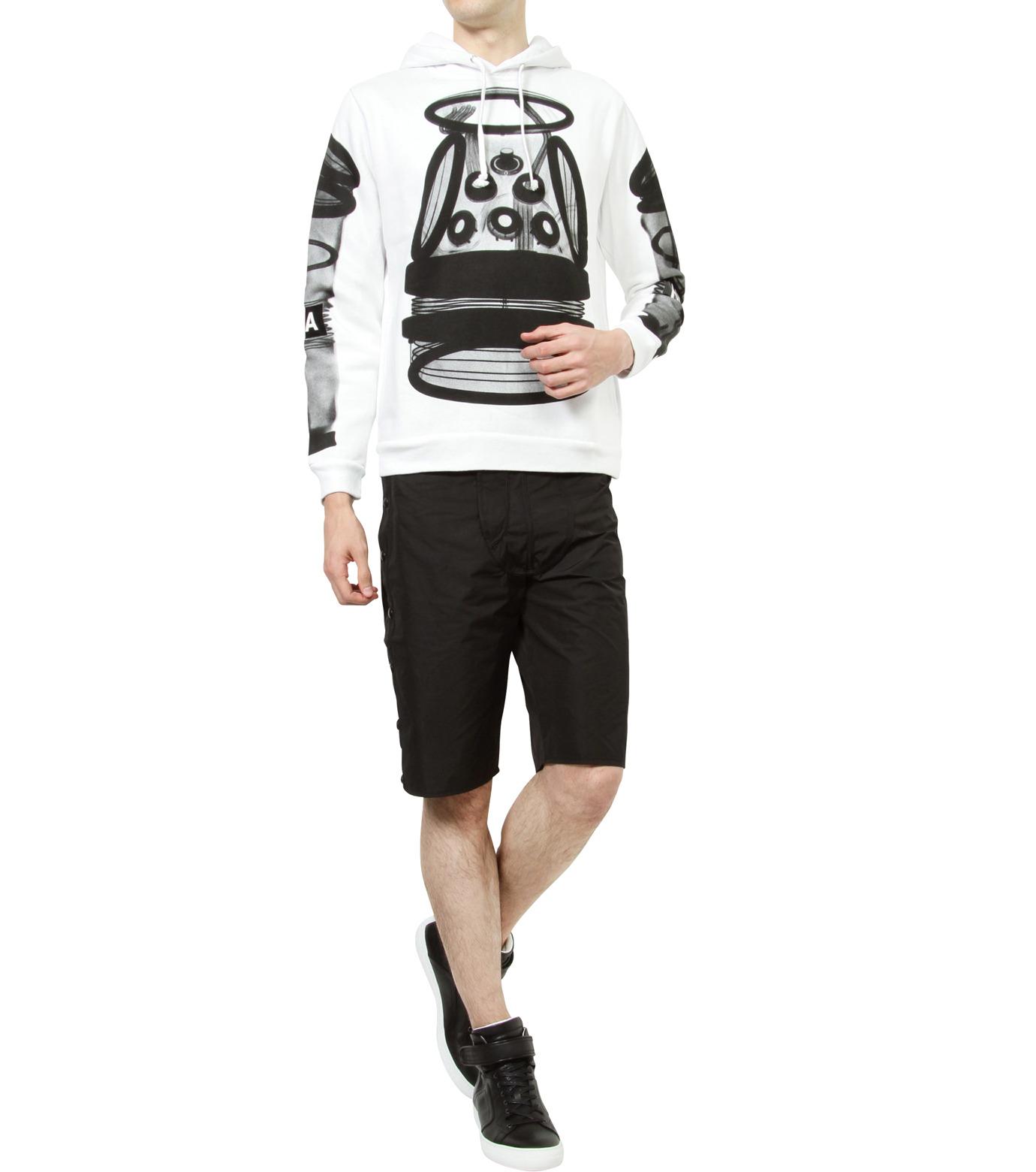 Hood By Air(フード・バイ・エアー)のTrack Snap Short w/Underwear Fly-BLACK(パンツ/pants)-S15-WS46-A-13 拡大詳細画像5