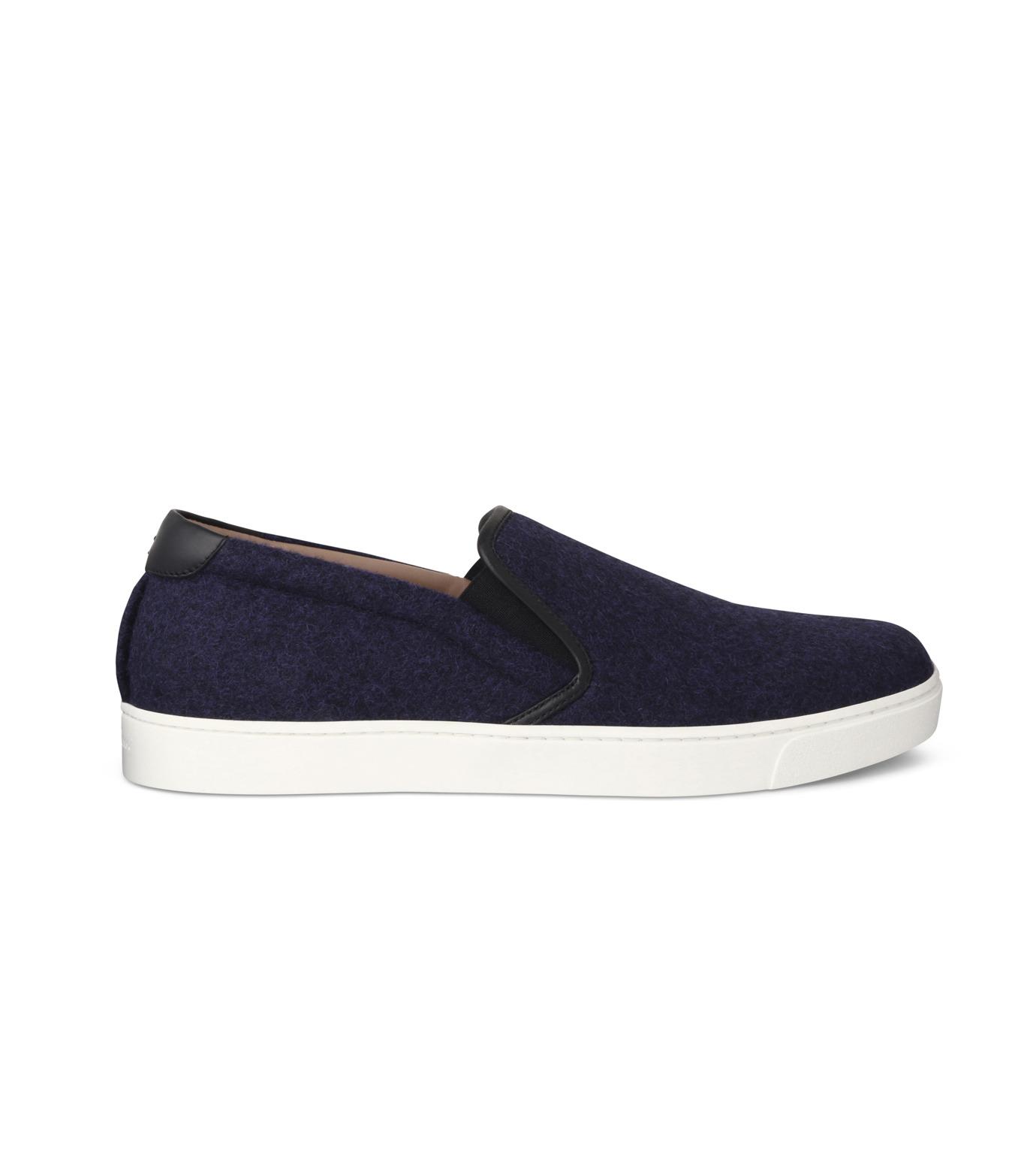 Gianvito Rossi(ジャンヴィト ロッシ)のSlippon Sneaker-BLUE(スニーカー/sneaker)-S20261-M-FEC-92 拡大詳細画像1