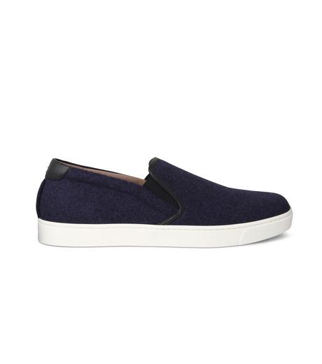 Gianvito Rossi(ジャンヴィト ロッシ)のSlippon Sneaker-BLUE(スニーカー/sneaker)-S20261-M-FEC-92 詳細画像1