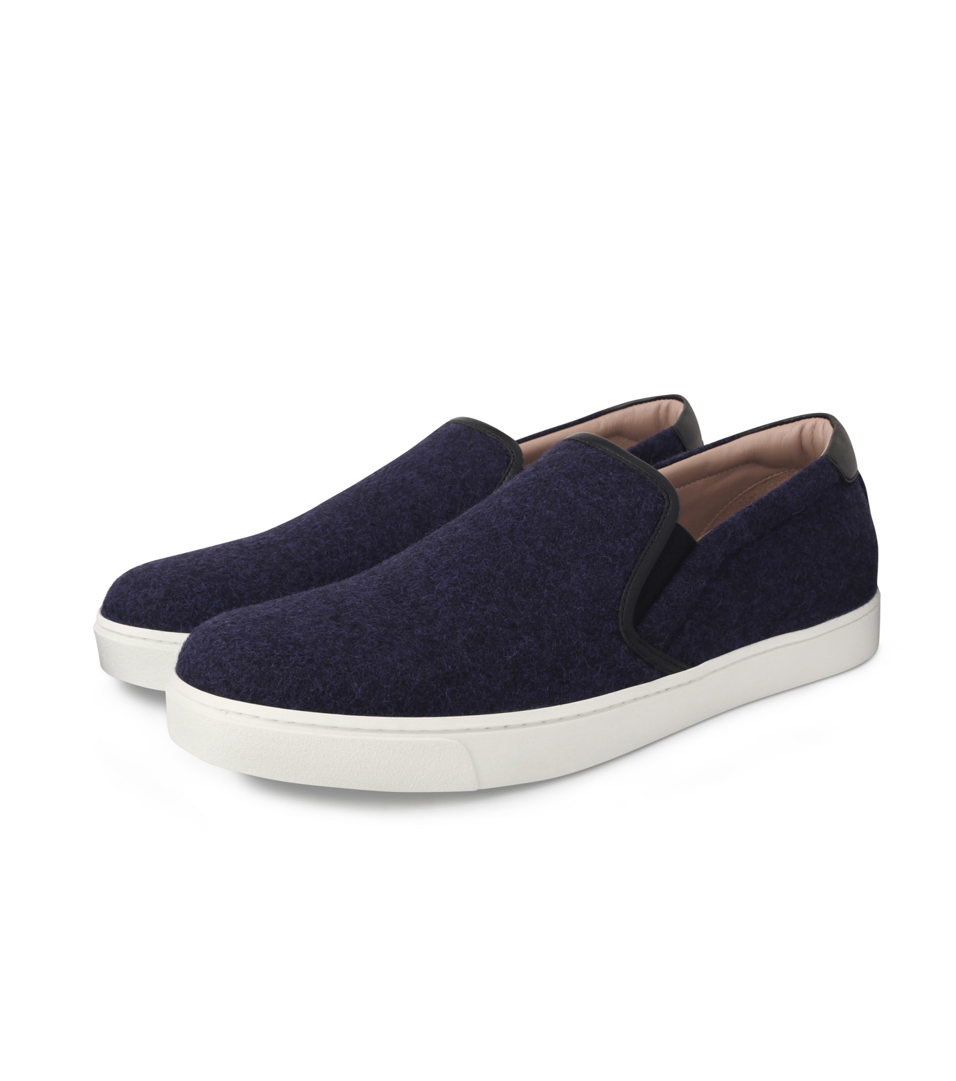 Gianvito Rossi(ジャンヴィト ロッシ)のSlippon Sneaker-BLUE(スニーカー/sneaker)-S20261-M-FEC-92 拡大詳細画像3