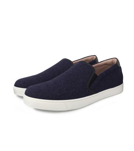 Gianvito Rossi(ジャンヴィト ロッシ)のSlippon Sneaker-BLUE(スニーカー/sneaker)-S20261-M-FEC-92 詳細画像3