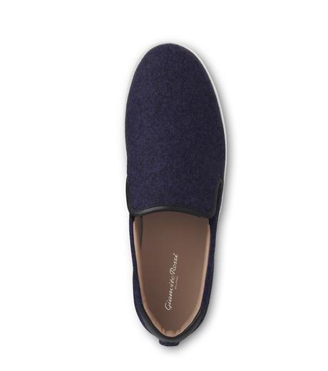 Gianvito Rossi(ジャンヴィト ロッシ)のSlippon Sneaker-BLUE(スニーカー/sneaker)-S20261-M-FEC-92 詳細画像4