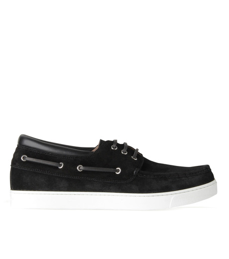 Gianvito Rossi(ジャンヴィト ロッシ)のMiddle Cut Deck Shoes-BLACK(シューズ/shoes)-S20966-13 詳細画像1