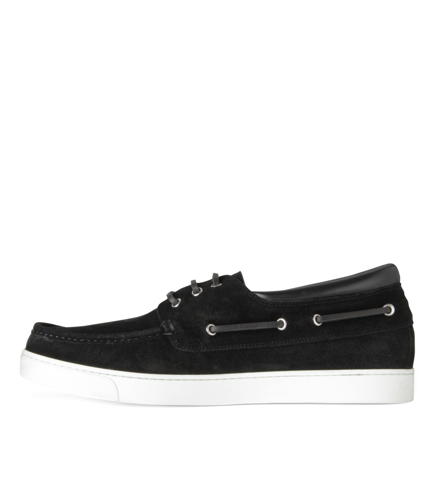 Gianvito Rossi(ジャンヴィト ロッシ)のMiddle Cut Deck Shoes-BLACK(シューズ/shoes)-S20966-13 拡大詳細画像2