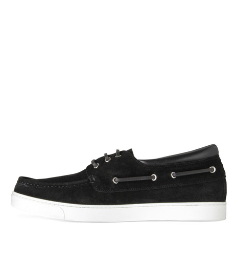 Gianvito Rossi(ジャンヴィト ロッシ)のMiddle Cut Deck Shoes-BLACK(シューズ/shoes)-S20966-13 詳細画像2