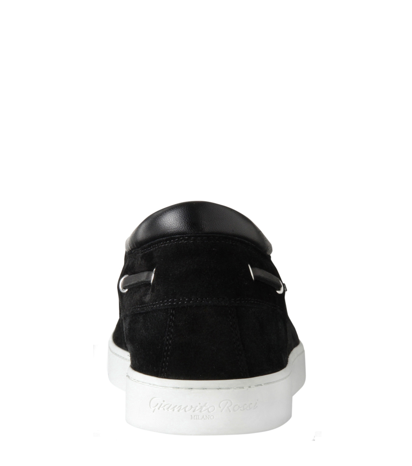 Gianvito Rossi(ジャンヴィト ロッシ)のMiddle Cut Deck Shoes-BLACK(シューズ/shoes)-S20966-13 拡大詳細画像3