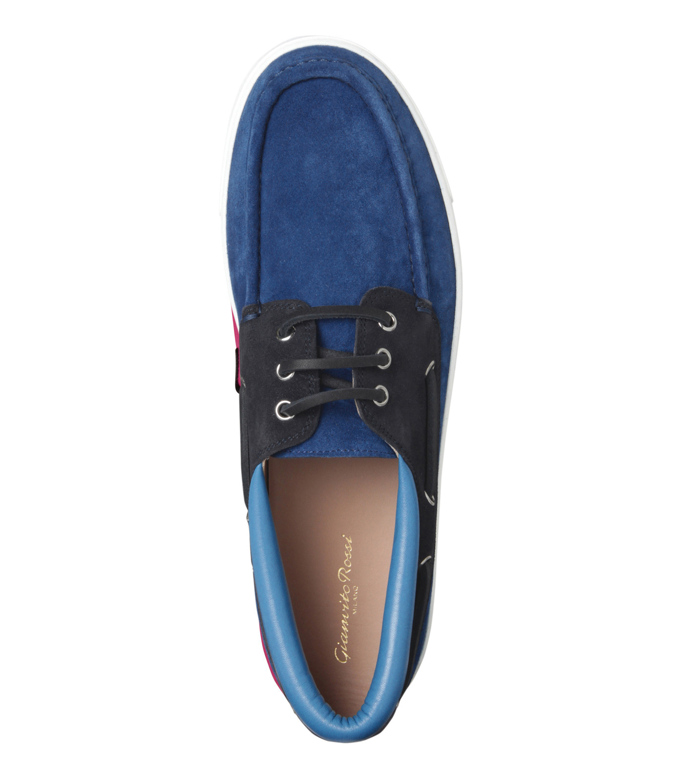 Gianvito Rossi(ジャンヴィト ロッシ)のMiddle Cut Deck Shoes-LIGHT BLUE(シューズ/shoes)-S20966-91 拡大詳細画像5