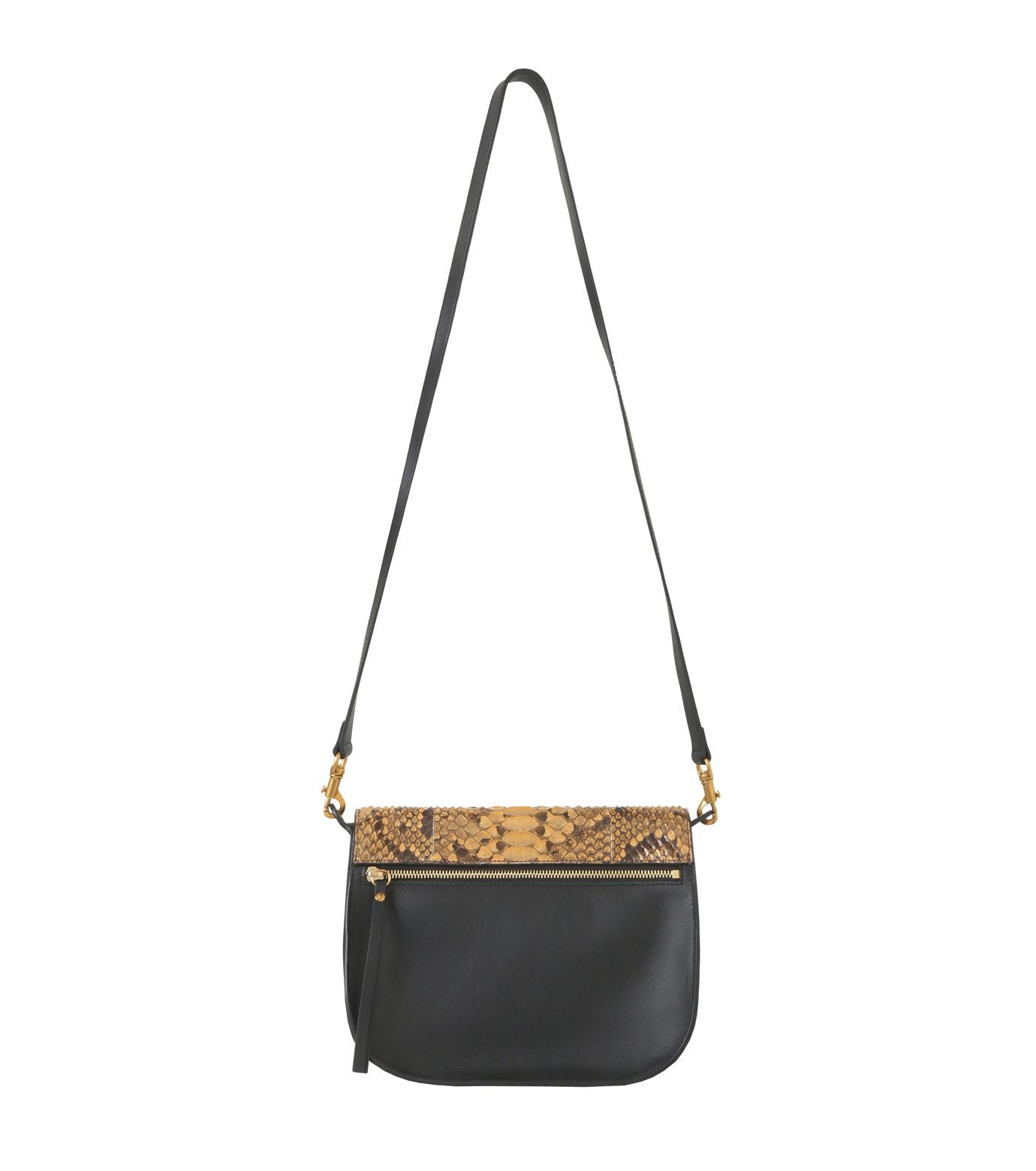 Chloe(クロエ)のKurtis Python Shoulder Bag-BLACK(ショルダーバッグ/shoulder bag)-S238H9XB-13 拡大詳細画像3