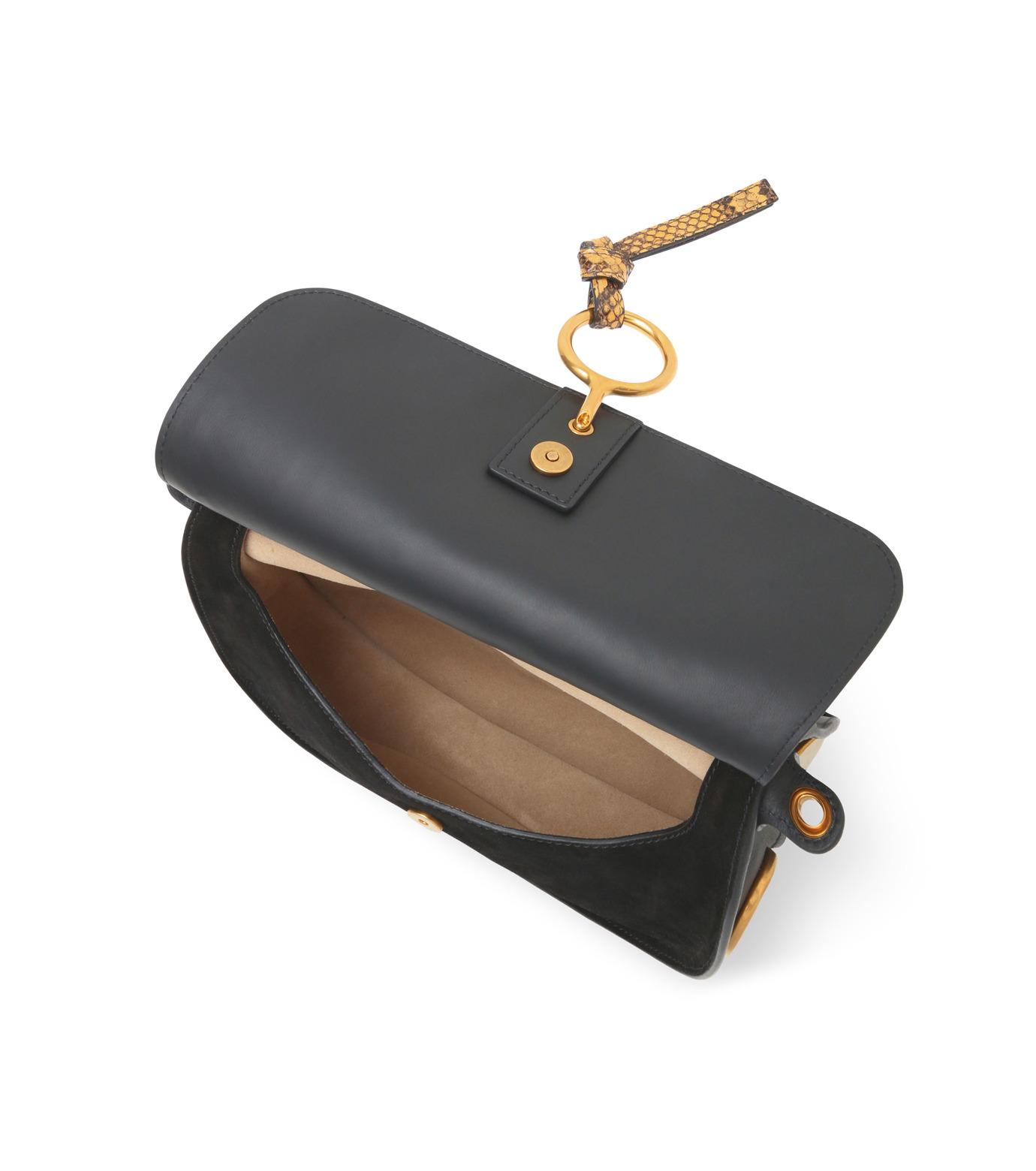 Chloe(クロエ)のKurtis Python Shoulder Bag-BLACK(ショルダーバッグ/shoulder bag)-S238H9XB-13 拡大詳細画像4