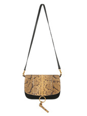 Chloe Kurtis Python Shoulder Bag