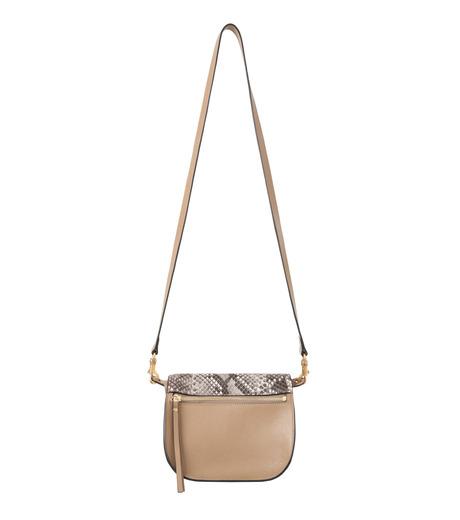 Chloe(クロエ)のKurtis Python Shoulder Bag-BEIGE(ショルダーバッグ/shoulder bag)-S239H8VB-52 詳細画像3