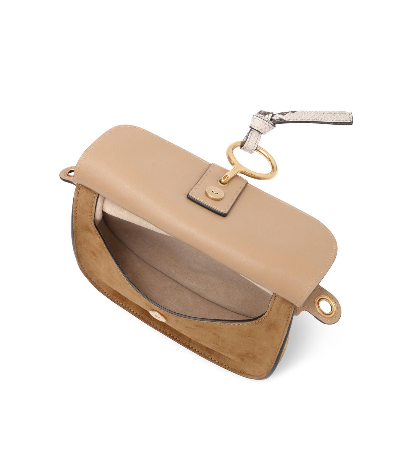 Chloe(クロエ)のKurtis Python Shoulder Bag-BEIGE(ショルダーバッグ/shoulder bag)-S239H8VB-52 拡大詳細画像4