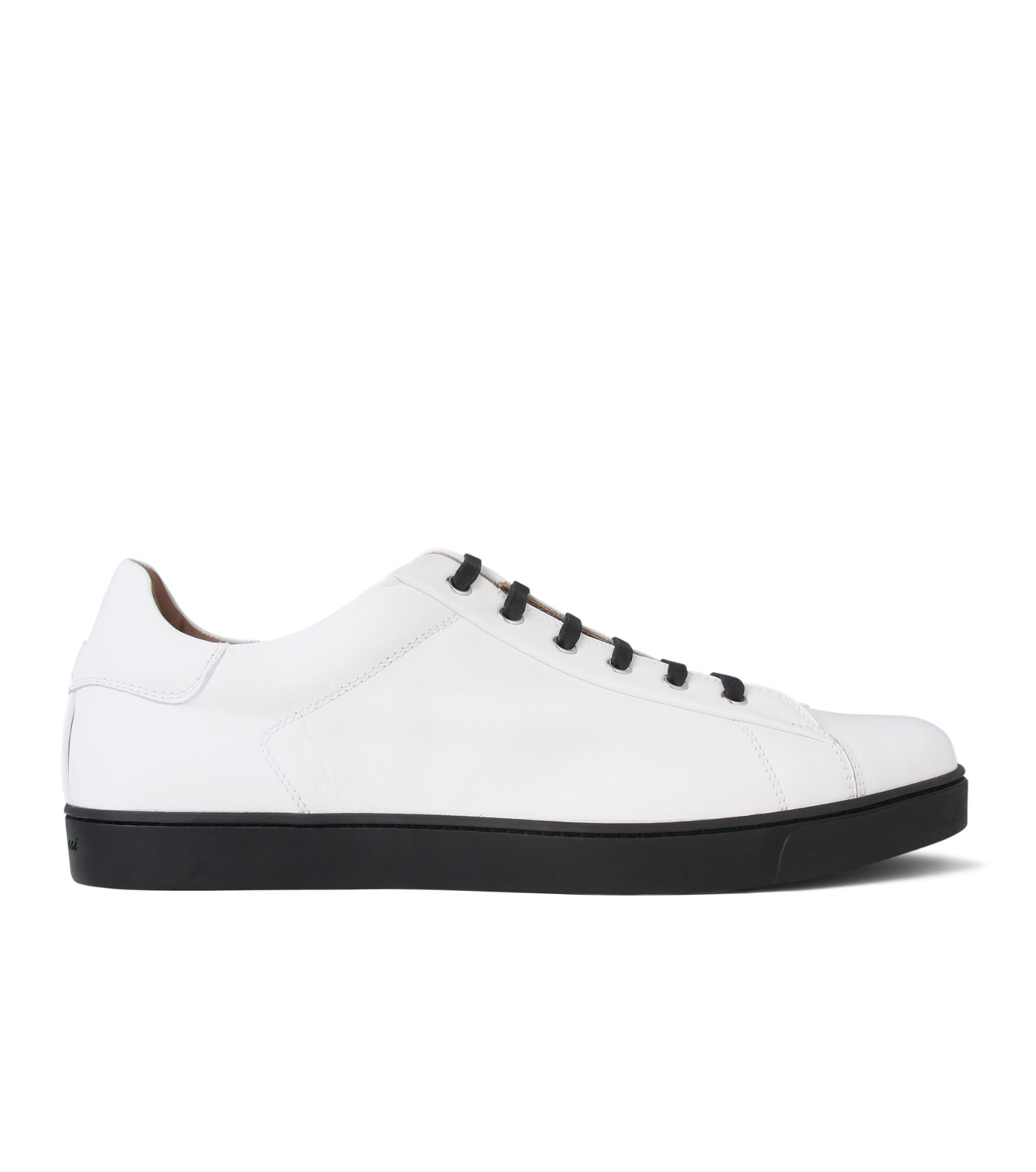 Gianvito Rossi(ジャンヴィト ロッシ)のLowcut Sneaker-WHITE(スニーカー/sneaker)-S26340-4 拡大詳細画像1