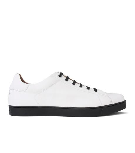 Gianvito Rossi(ジャンヴィト ロッシ)のLowcut Sneaker-WHITE(スニーカー/sneaker)-S26340-4 詳細画像1