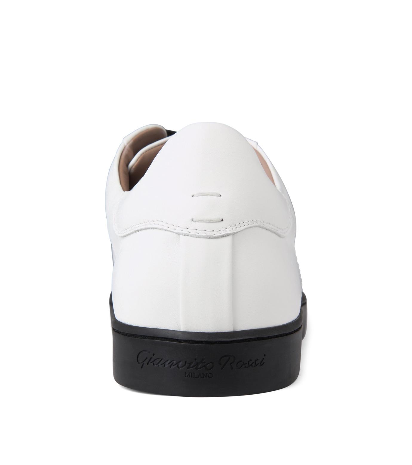Gianvito Rossi(ジャンヴィト ロッシ)のLowcut Sneaker-WHITE(スニーカー/sneaker)-S26340-4 拡大詳細画像2