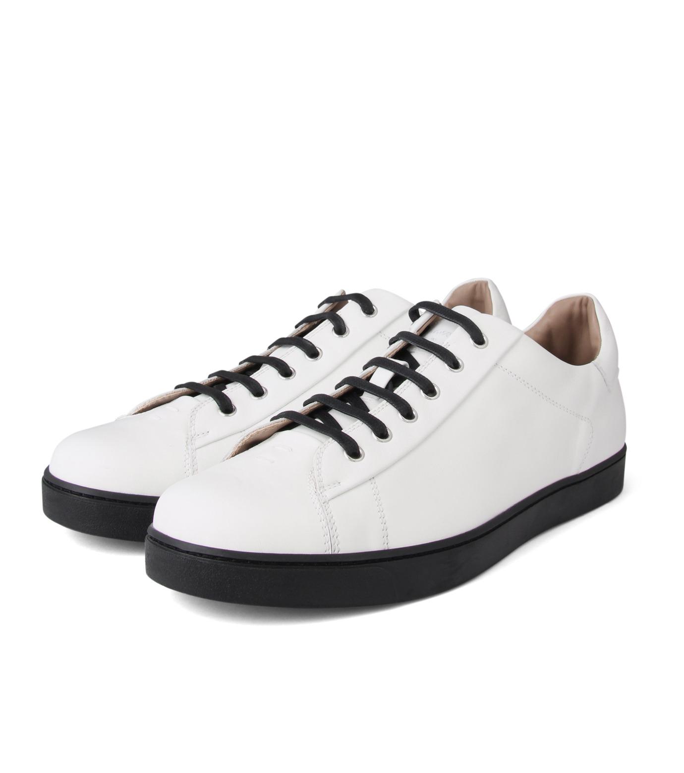 Gianvito Rossi(ジャンヴィト ロッシ)のLowcut Sneaker-WHITE(スニーカー/sneaker)-S26340-4 拡大詳細画像3