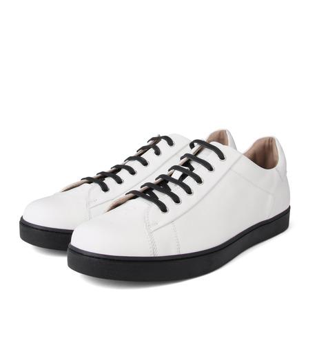 Gianvito Rossi(ジャンヴィト ロッシ)のLowcut Sneaker-WHITE(スニーカー/sneaker)-S26340-4 詳細画像3