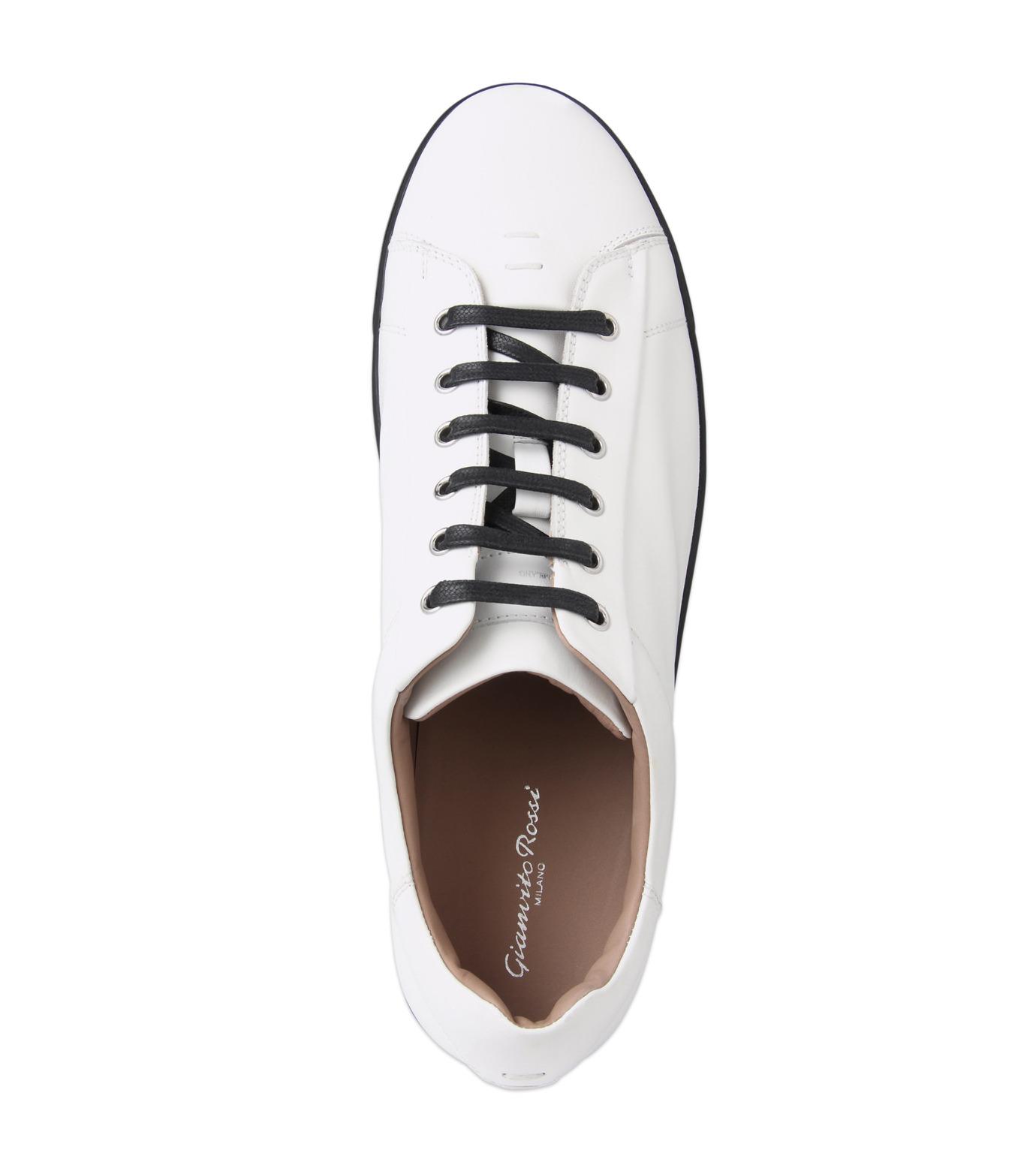 Gianvito Rossi(ジャンヴィト ロッシ)のLowcut Sneaker-WHITE(スニーカー/sneaker)-S26340-4 拡大詳細画像4