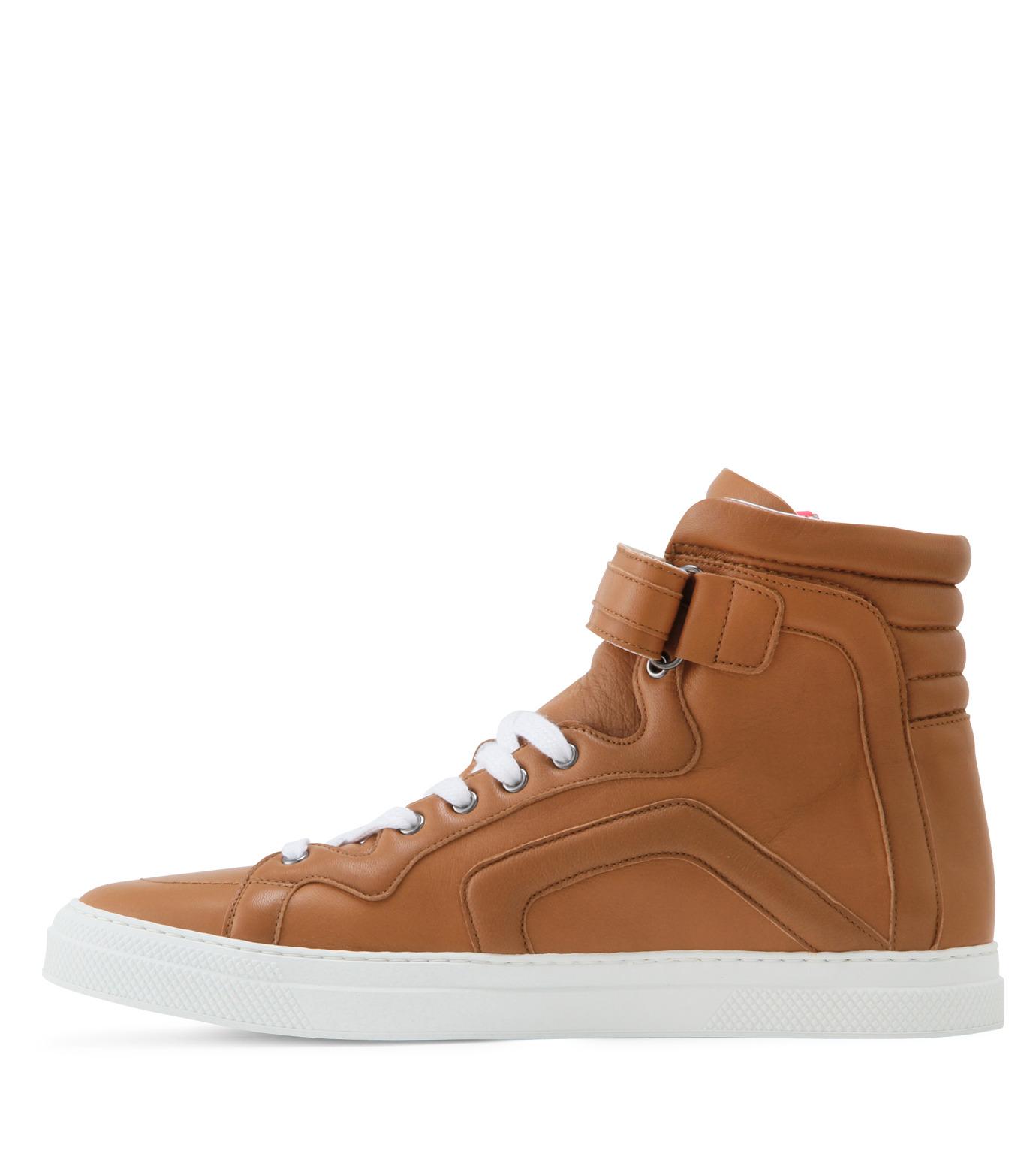 Pierre Hardy(ピエール アルディ)のSide zip sneaker-LIGHT BROWN-S3112NAPGUMC-41 拡大詳細画像2
