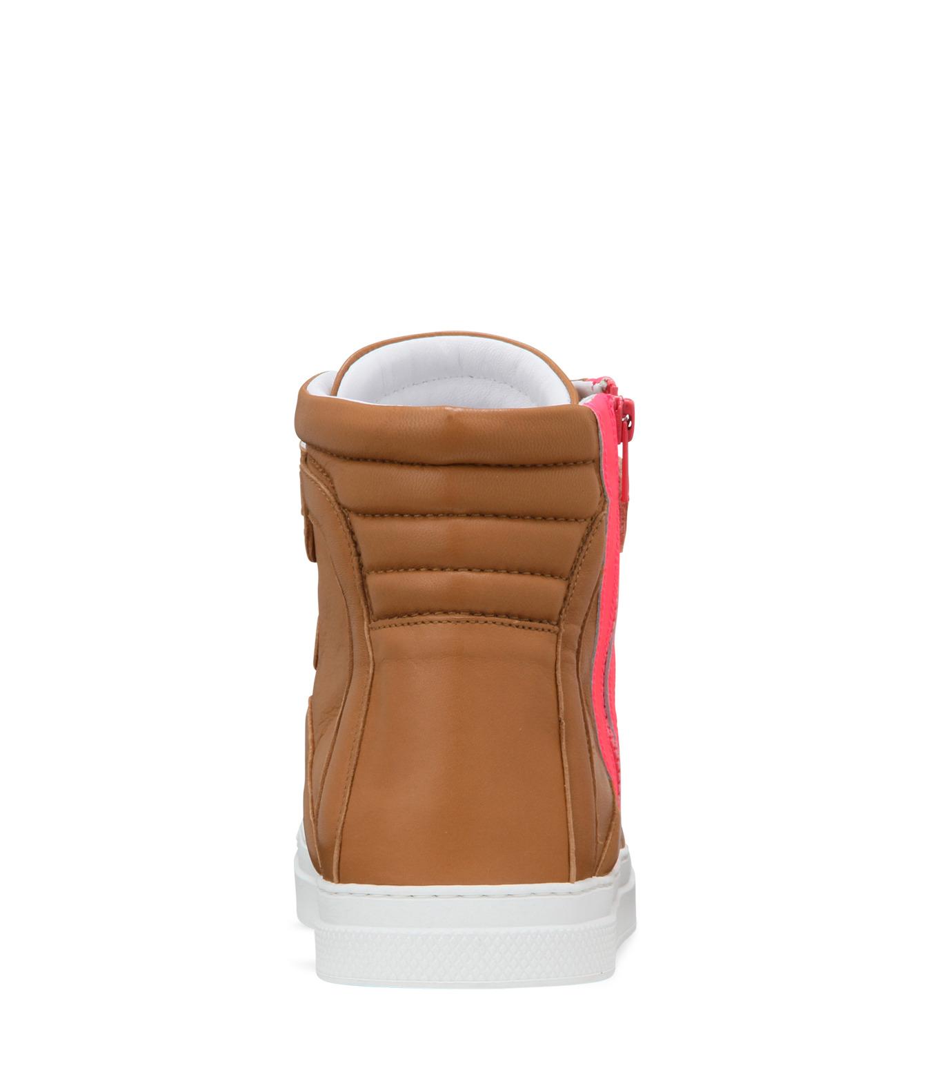 Pierre Hardy(ピエール アルディ)のSide zip sneaker-LIGHT BROWN-S3112NAPGUMC-41 拡大詳細画像3