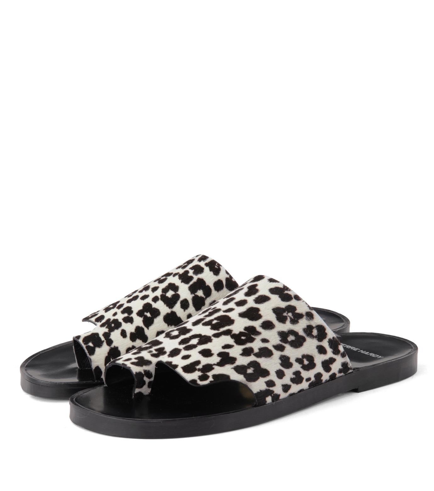 Pierre Hardy(ピエール アルディ)のLeopard Sandal-WHITE(シューズ/shoes)-S4FY08HRYCA-4 拡大詳細画像4