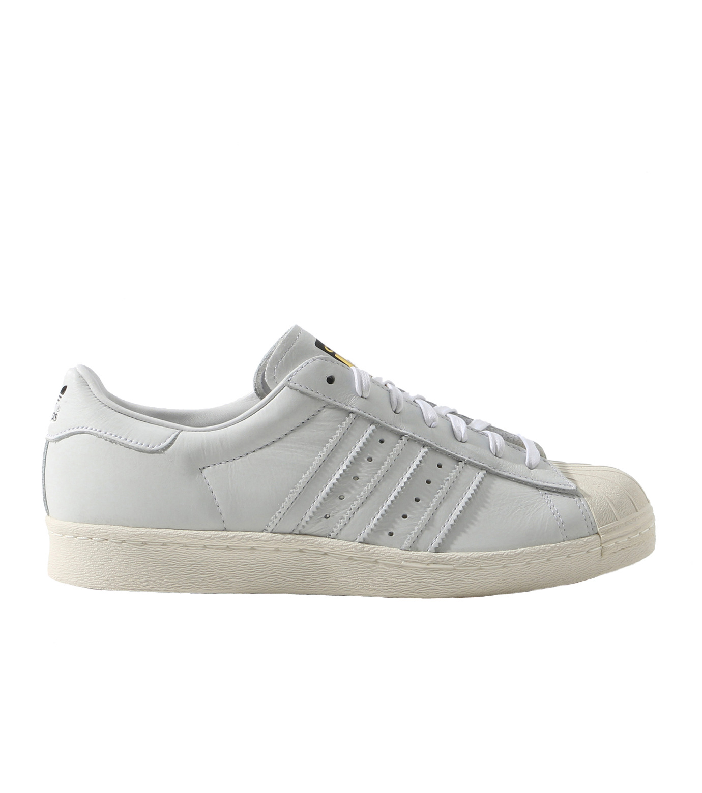 adidas(アディダス)のSUPERSTAR 80s DLX-WHITE(シューズ/shoes)-S75016-4 拡大詳細画像1