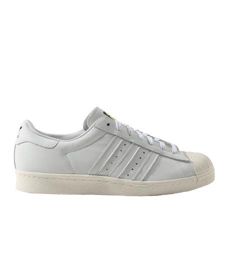 adidas(アディダス)のSUPERSTAR 80s DLX-WHITE(シューズ/shoes)-S75016-4 詳細画像1