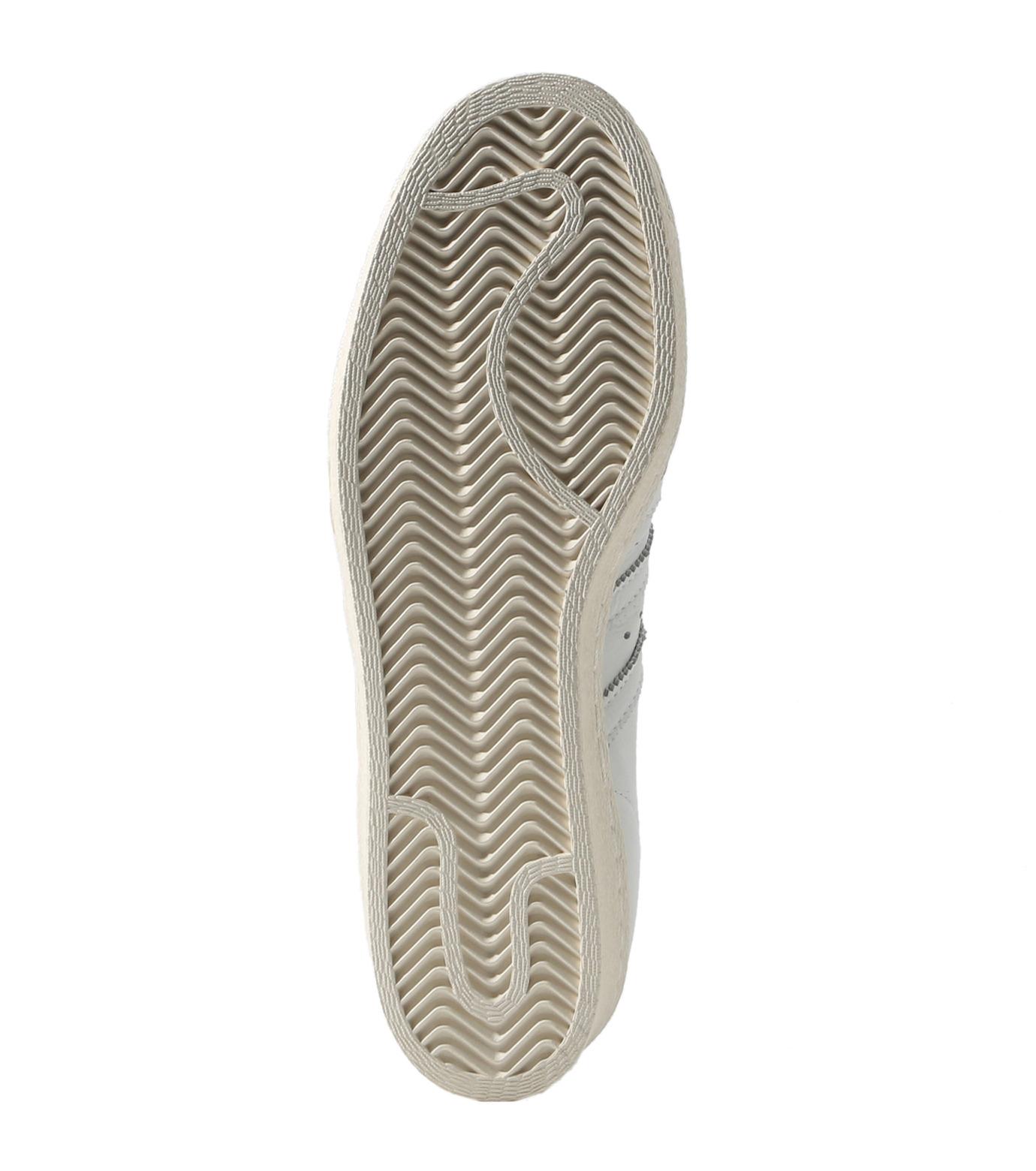 adidas(アディダス)のSUPERSTAR 80s DLX-WHITE(シューズ/shoes)-S75016-4 拡大詳細画像2