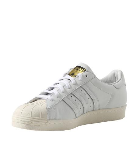 adidas(アディダス)のSUPERSTAR 80s DLX-WHITE(シューズ/shoes)-S75016-4 詳細画像3