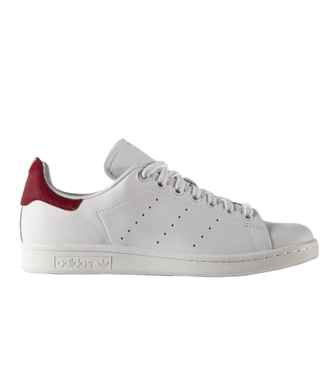 adidas(アディダス)のSTAN SMITH W-WHITE(シューズ/shoes)-S75562-4 拡大詳細画像1