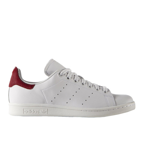 adidas(アディダス)のSTAN SMITH W-WHITE(シューズ/shoes)-S75562-4 詳細画像1